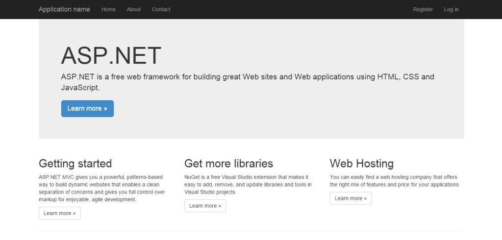 New Feature In Mvc 5 Bootstrap Dotnet Helpers