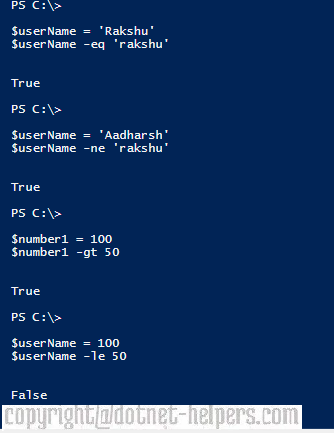 PowerShell Basics: Comparison Operators and Conditional