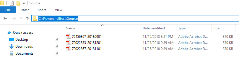 Move files to another directory Based on Filename with